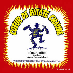 Robert Crumb's artwork for Coeur de Patate Chaude CD cover