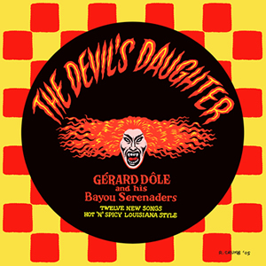 Robert Crumb's artwork for The Devil's Daughter CD cover